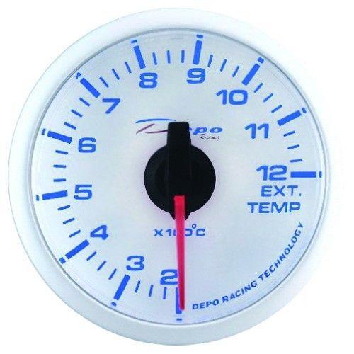 DEPO óra, műszer WBL 52mm - Kipufogógáz hőmérséklet